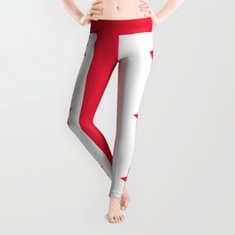 Flag of the District of Columbia - Washington D.C authentic version Leggings