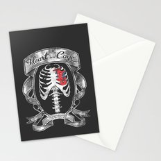 Heart in a Cage Stationery Cards