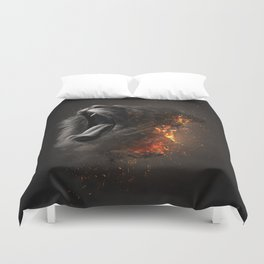 XTINCT x Lion Duvet Cover