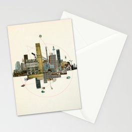 Collage City Mix 8 Stationery Cards