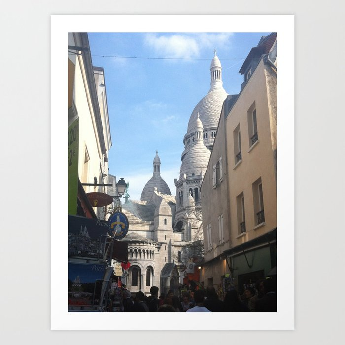 Paris - Basilica Of The Sacré Coeur Art Print