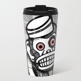 Creepy Cymbal-banging Monkey Travel Mug