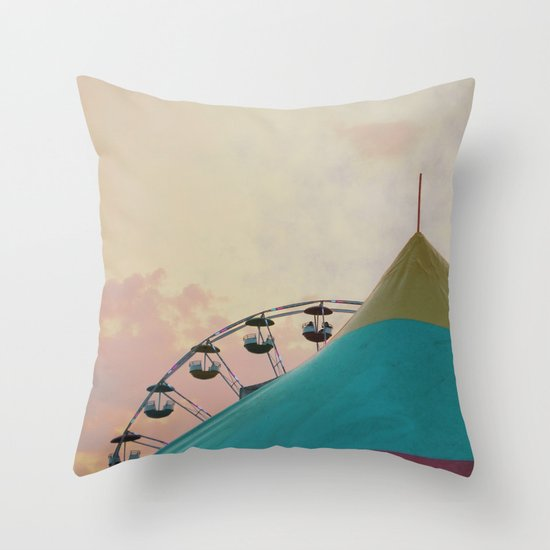 Circus Dreams Throw Pillow