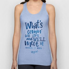 Wise Words of Hagrid Unisex Tank Top