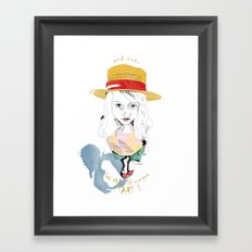 Wild Thing Framed Art Print