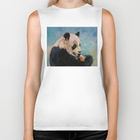 ice cream Biker Tanks featuring Ice Cream by Michael Creese
