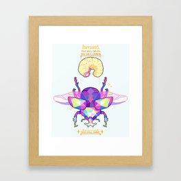 You Will Shine Framed Art Print