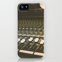 Studio Mixing Board iPhone Case