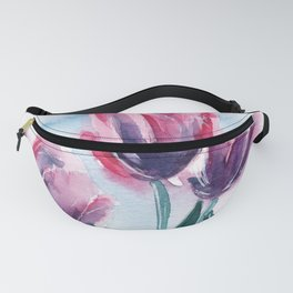 Spring Tulips Fanny Pack