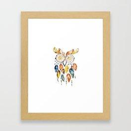 Owl Dreamcatcher Framed Art Print