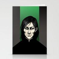 snape Stationery Cards featuring Severus Snape  by Fatma Sahem