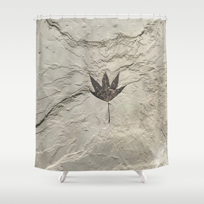 Nature - Leaf in our Past Shower Curtain