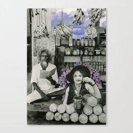 Marlene & the Shopkeeper Canvas Print