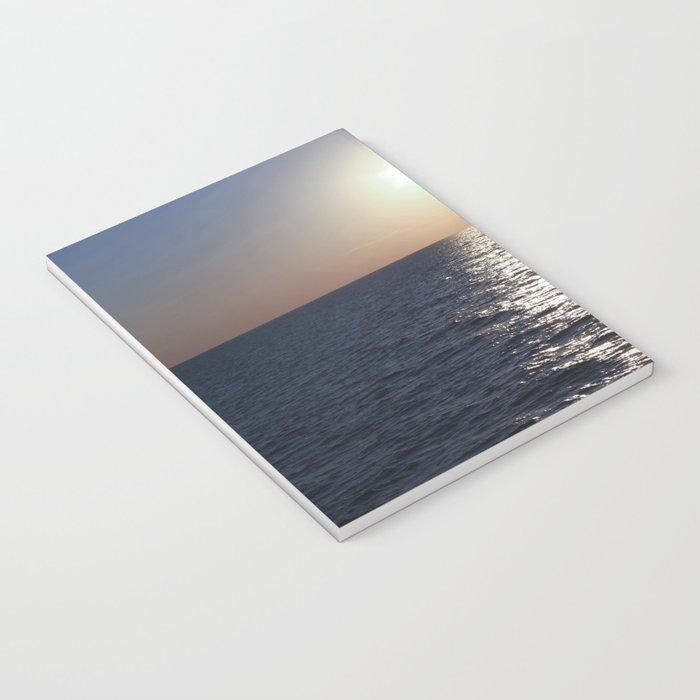 Sunset, Santorini Notebook