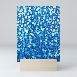 Royal Blue Sequin Glitter | Nadia Bonello Mini Art Print