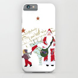 A French Script Christmas iPhone Case