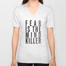 FEAR IS THE MINDKILLER Unisex V-Neck