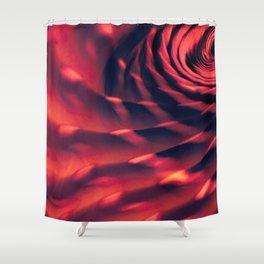 Fleeting Waves Shower Curtain