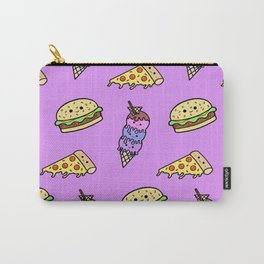 Fast Food Cuties (Purple) Carry-All Pouch