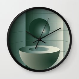 Shape study #5 - Memphis Collection Wall Clock