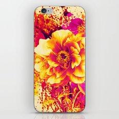 splash flowers iPhone Skin