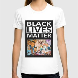 Black Lives Matter - African American Leaders and Heroes T-shirt