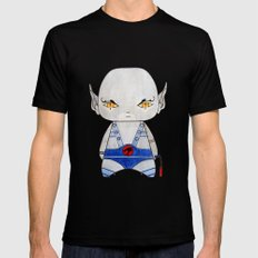 A Boy - Panthro (Thundercats) LARGE Black Mens Fitted Tee