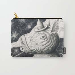 Pig Pipe Skull Carry-All Pouch