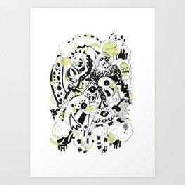 Freak Show Art Print