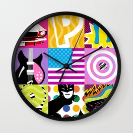 P*O*P* Wall Clock