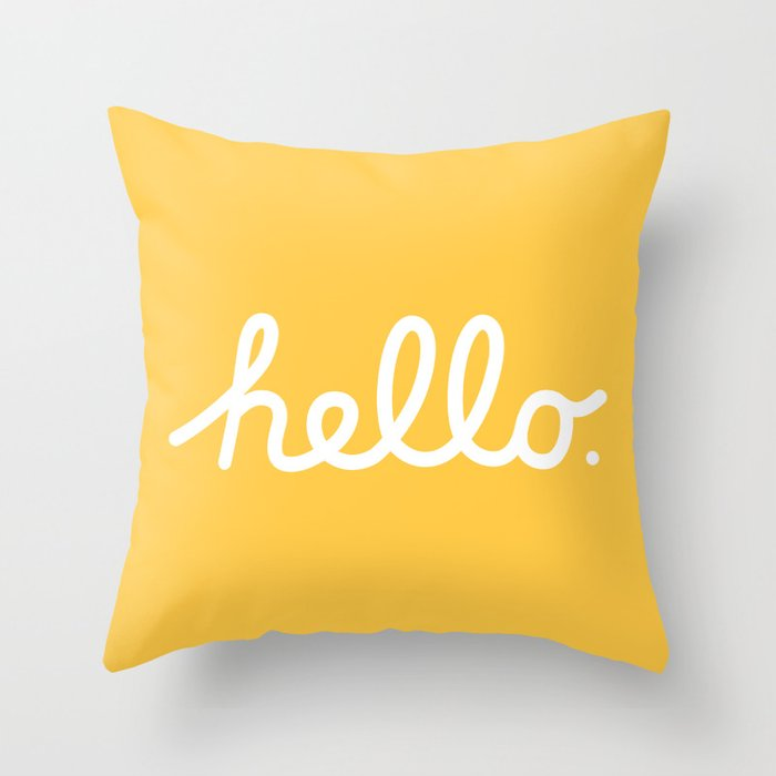 Throw Pillow By Rhett