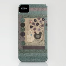 The Cat and The Hen Slim Case iPhone (4, 4s)