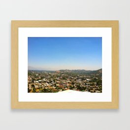 Highland Park, Los Angeles, California Framed Art Print