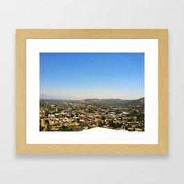 Highland Park, Los Angeles, California Framed Art Print
