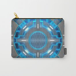 Decorative panel imitating the movement of watches. Carry-All Pouch