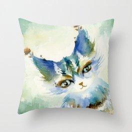 Jasper, the Mischief-Maker Throw Pillow