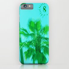 palm tree number 8 Slim Case iPhone 6s