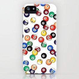 Pool Balls iPhone Case