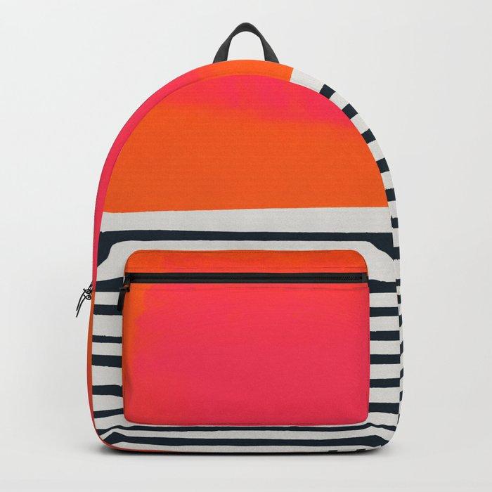 Sunset Ripples Backpack