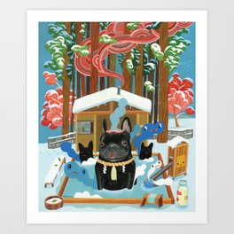 """French Onsen"" Art Print"