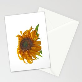 sunflower bad hair day Stationery Cards