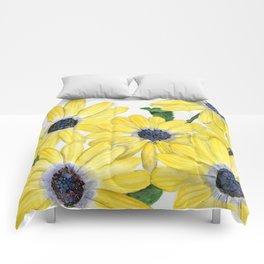 Strangely Sunny Comforters