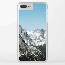 rocky spine Clear iPhone Case