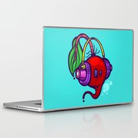 fat Laptop & iPad Skins featuring Fat Beets by Artistic Dyslexia