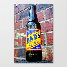 Retro root beer Canvas Print