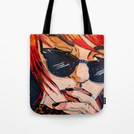 LUNETTES NOIRES Tote Bag
