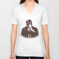 jay fleck V-neck T-shirts featuring Jay by Fimbis