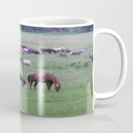 Cades Cove Horses Coffee Mug