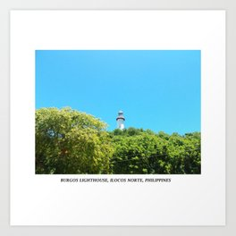 Burgos Lighthouse Art Print