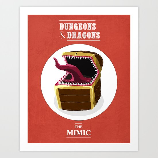 Mimic Art Print
